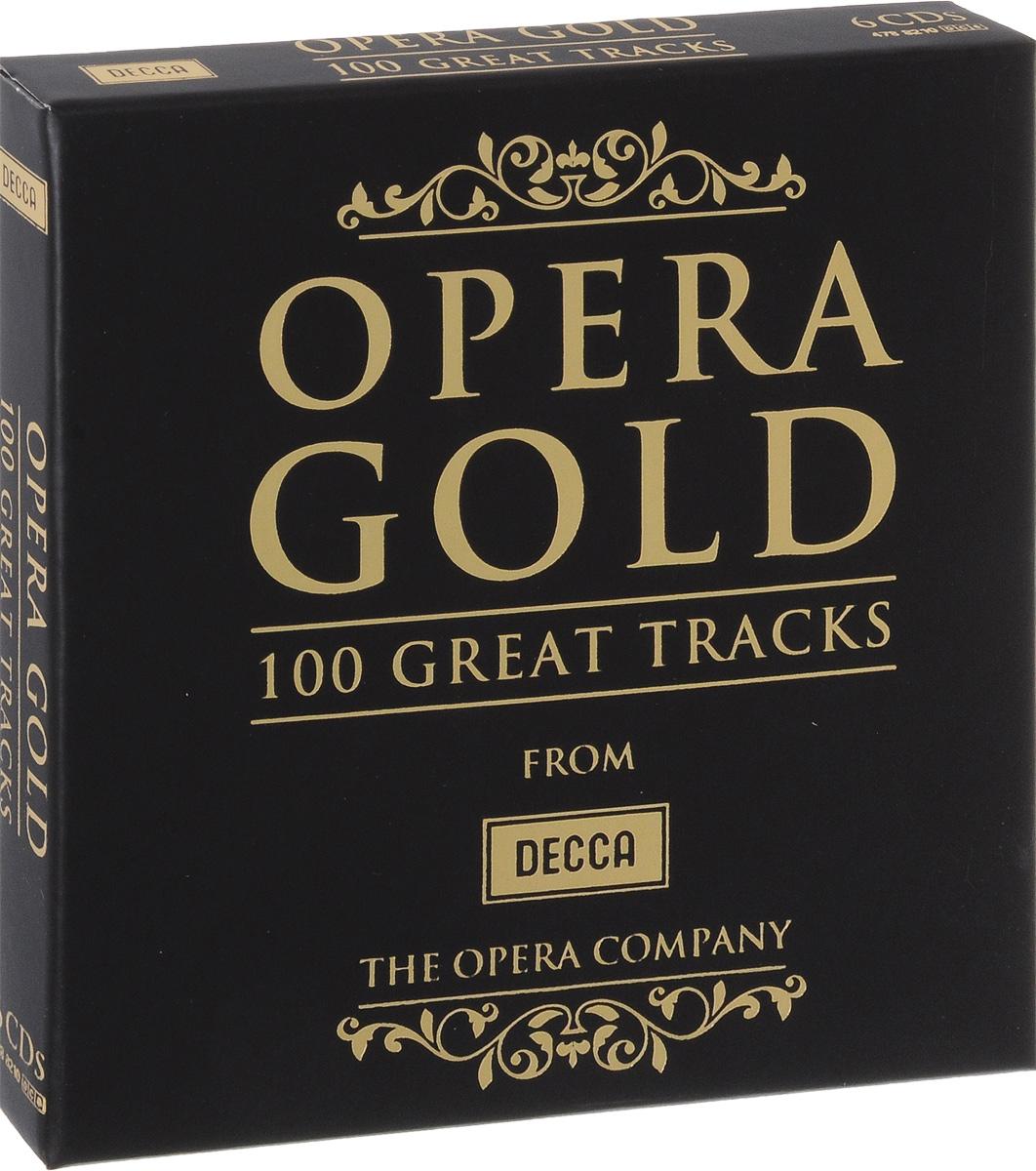 Opera Gold. 100 Great Tracks (6 CD) 100 great street photographs