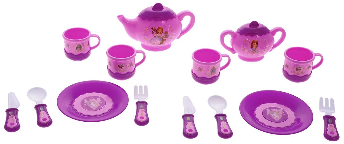 Играем вместе Набор посуды София Прекрасная 14 предметов играем вместе игрушка пластм набор посуды принцессы дисней 14 предметов играем вместе