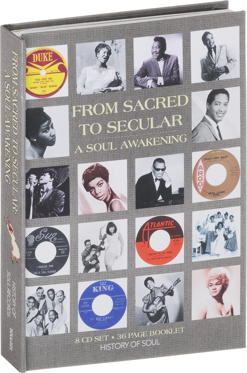 A Soul Awakening. From Sacred To Secular (8 CD) a history of russian symbolism