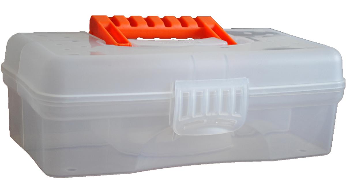 Органайзер Blocker Hobby Box, цвет: прозрачный, 29,5 х 18 х 9 смBR3751ПР-10РSОрганайзер Blocker Hobby Box изготовлен из высококачественного прочного пластика. Изделие предназначено для хранения и переноски небольших инструментов, рыболовных принадлежностей, различных мелочей. Оснащен 6 секциями. Надежно закрывается при помощи пластмассовой защелки. На крышке имеется ручка для удобной переноски изделия.Размер самой большой секции: 29 х 8 х 6 см.Размер самой маленькой секции: 8 х 4,5 х 6 см.
