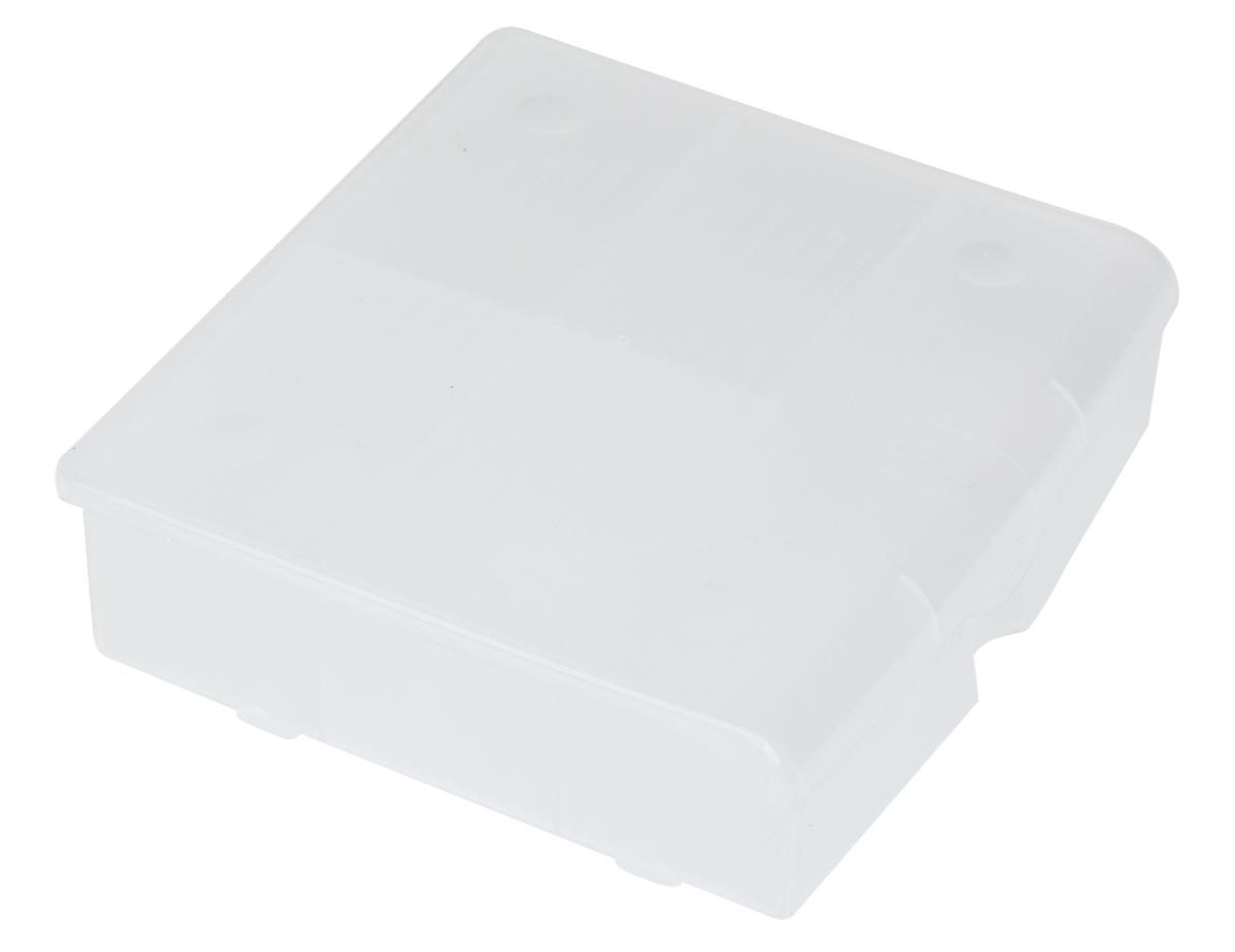 Органайзер для мелочей Blocker, цвет: прозрачный, 17 х 16 х 4,5 смПЦ3711ПРМТОрганайзер для мелочей Blocker предназначен для оптимальной организациипространства. Внутреннее деление делает удобным размещениевнутри блока деталей, которые необходимо отделить друг от друга, а прозрачнаякрышка позволяет увидеть содержимое, не открывая блок. Подходит дляхранения швейных принадлежностей, мелких деталей и рыболовных снастей.Крышка плотно закрывается и предотвращает потерю содержимого.