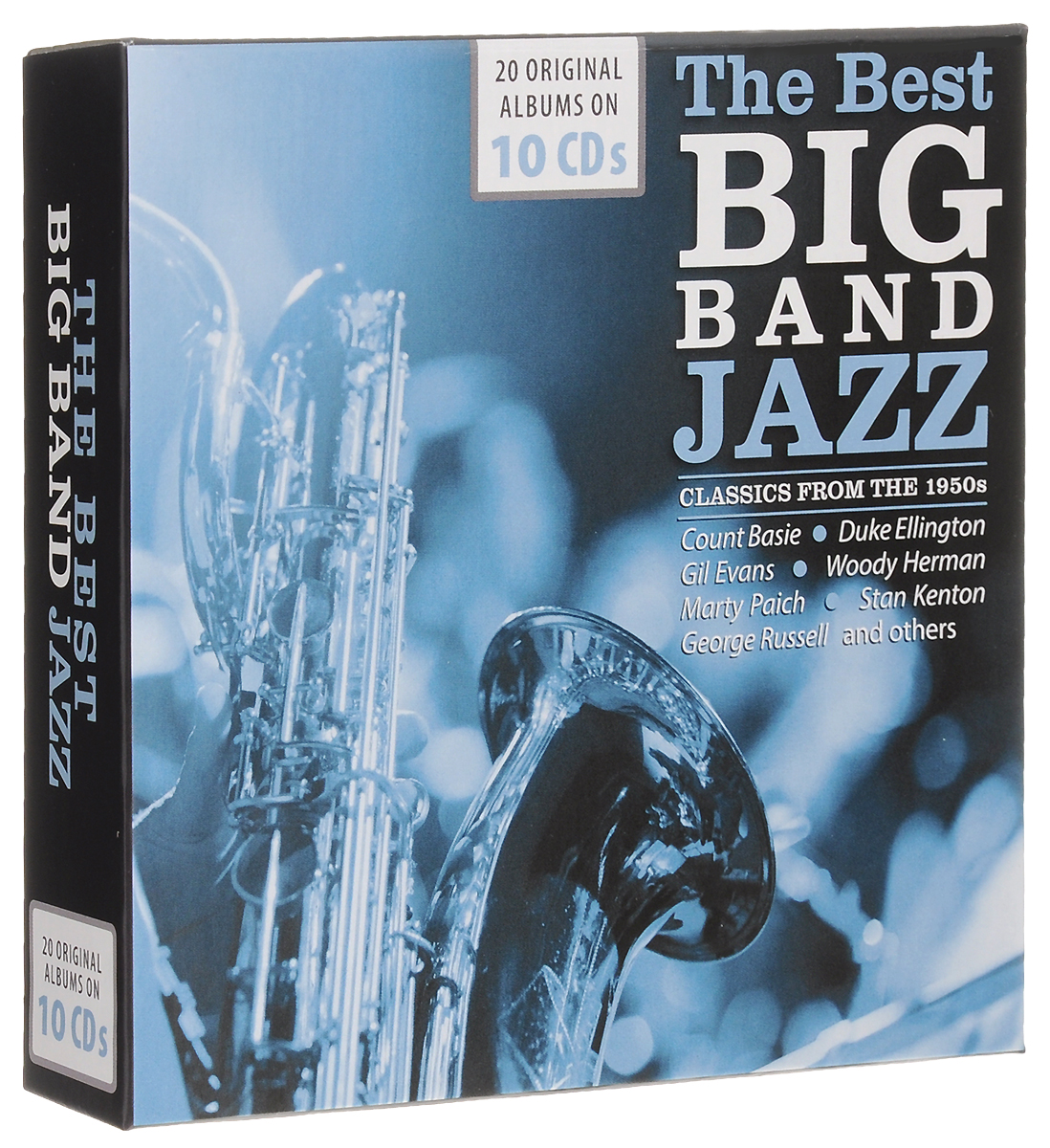 The Best Big Bands. Jazz Classics From The 1950s (10 CD) the jazz cafe 3 cd