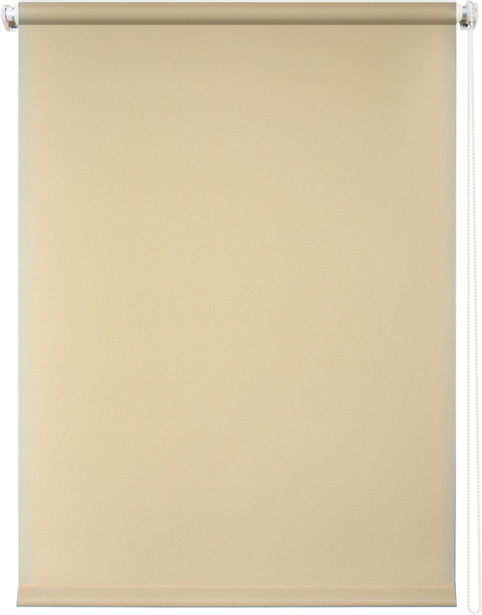 Штора рулонная Уют Плайн, цвет: бежевый, 70 х 175 см62.РШТО.7506.070х175Штора рулонная Уют Плайн выполнена из прочного полиэстера с обработкой специальным составом, отталкивающим пыль. Ткань не выцветает, обладает отличной цветоустойчивостью и светонепроницаемостью.Штора закрывает не весь оконный проем, а непосредственно само стекло и может фиксироваться в любом положении. Она быстро убирается и надежно защищает от посторонних взглядов. Компактность помогает сэкономить пространство. Универсальная конструкция позволяет крепить штору на раму без сверления, также можно монтировать на стену, потолок, створки, в проем, ниши, на деревянные или пластиковые рамы. В комплект входят регулируемые установочные кронштейны и набор для боковой фиксации шторы. Возможна установка с управлением цепочкой как справа, так и слева. Изделие при желании можно самостоятельно уменьшить. Такая штора станет прекрасным элементом декора окна и гармонично впишется в интерьер любого помещения.