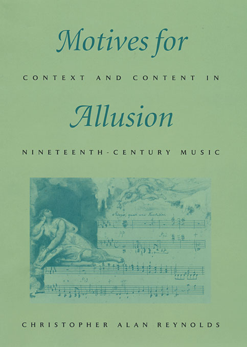 Motives for Allusion – Context & Content in Nineteenth–Century Music new england textiles in the nineteenth century – profits