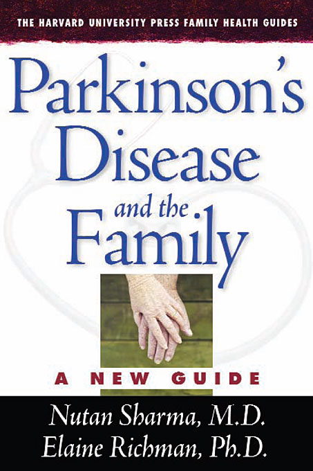 Parkinson?s Disease and the Family nakanishi long term care of parkinson s disease pr only symp tokyo april 1987