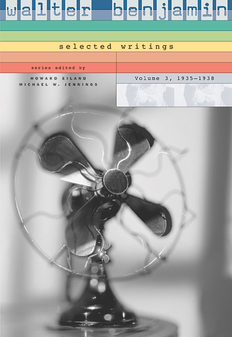 Walter Benjamin Selected Writings V 3 – 1935–1938 scott walter waverly vintage past scott walter