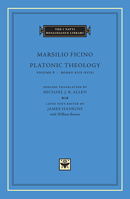 Platonic Theology Volume 6, Books XVII – XVIII knights of sidonia volume 6