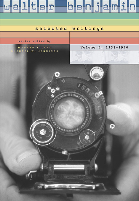Walter Benjamin – Selected Writings 1938–1940 V 4 c s peirce the essential peirce – selected philosophical writings v 1