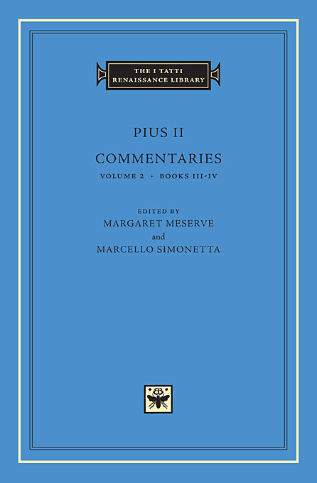 Commentaries Books Volume 2 Books III–IV platonic theology volume 3 books ix–xi s