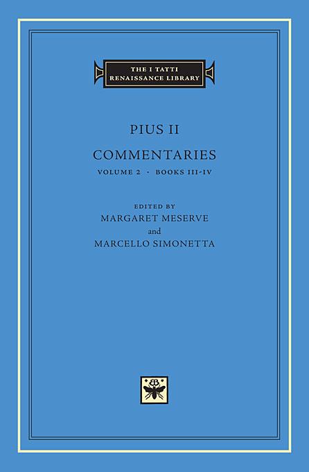 Commentaries Books Volume 2 Books III–IV