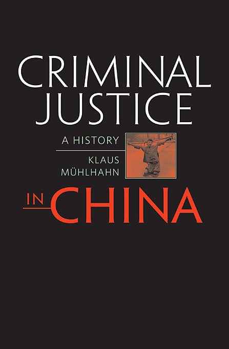 Criminal Justice in China – A History a short history of distributive justice