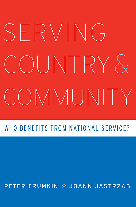 Serving Country and Community – Who Benefits from National Service?
