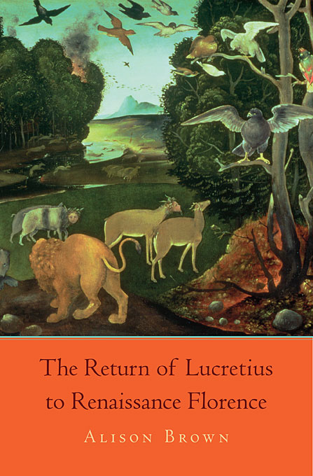 The Return of Lucretius to Renaissance Florence return to oakpine