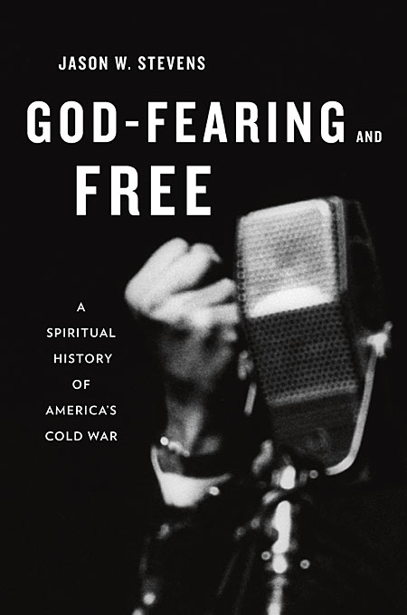God–Fearing and Free – A Spiritual History of America?s Cold War кружка с цветной ручкой и ободком printio god of war