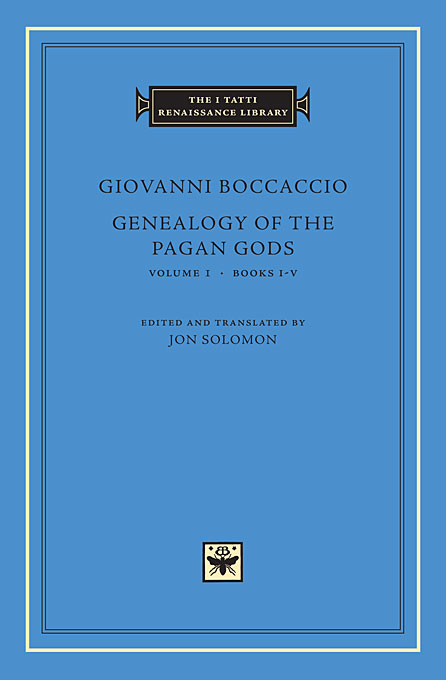 Genealogy of the Pagan Gods, Vol I – Books I–V crusade vol 3 the master of machines