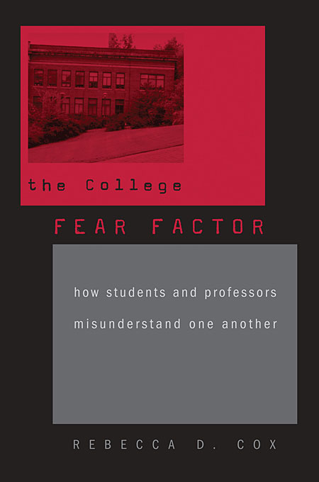 The College Fear Factor – How Students and Professors Misunderstand One Another another one bites the grass