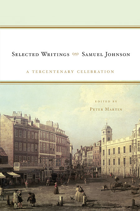 Samuel Johnson: Selected Writings samuel johnson the works vol 8