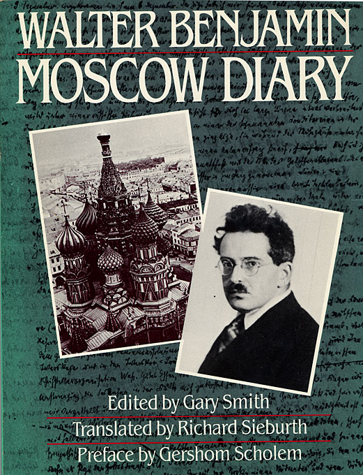 Moscow Diary – Richard Sieburth Tr Gers Hom Scholem Fwd (Paper)