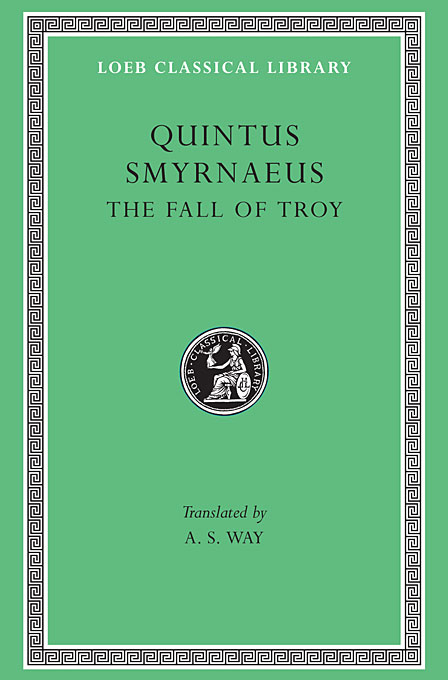 The Fall of Troy L019 (Trans. Way) (Greek) homeric hymns – fragments of the epic cycle homerica l057 trans evelyn–white greek