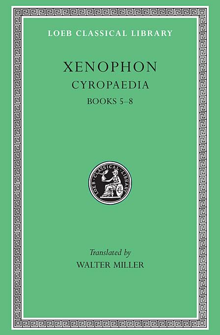 Cyropaedia Books V–VIII L052 V 6 (Trans. Miller) (Greek) t 052 black