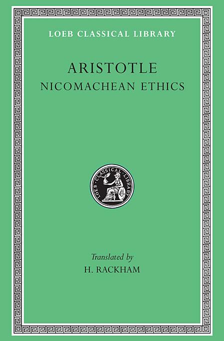 Nicomachean Ethics L073 V19 (Trans. Rackham) (Greek) аксессуар bbb bbc 03 black