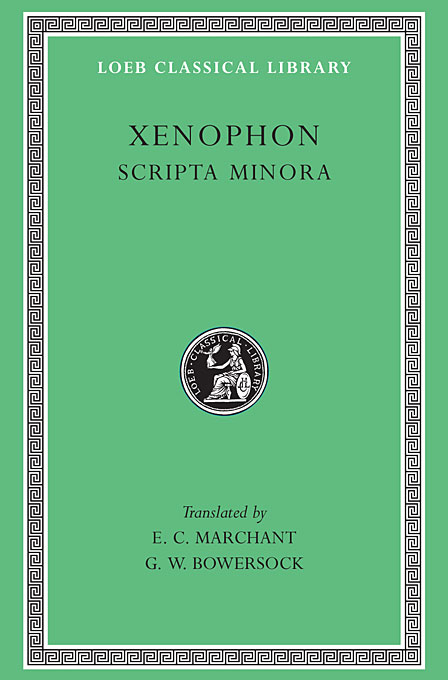 Scripta Minora – Constitution of the Athenians L183 V 7 (Trans. Marchant)(Greek) to demonicus – to nicocles – nicocles or the cyprians l209 v 1 trans norlin greek