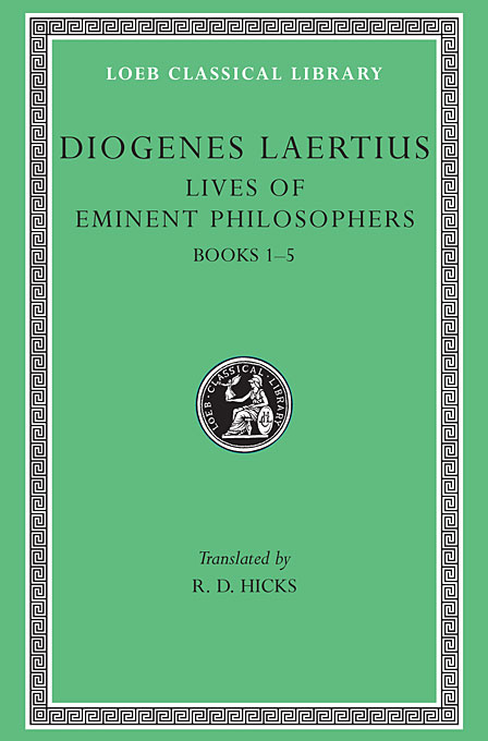 Lives of Eminent Philosophers – Books I–V L184 V 1 (Trans. Hicks)(Greek) india hicks island style