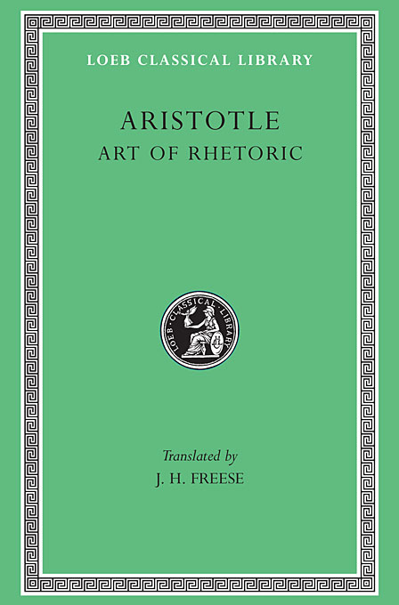 Art of Rhetoric L193  V22 (Trans. Freese)(Greek) homeric hymns – fragments of the epic cycle homerica l057 trans evelyn–white greek