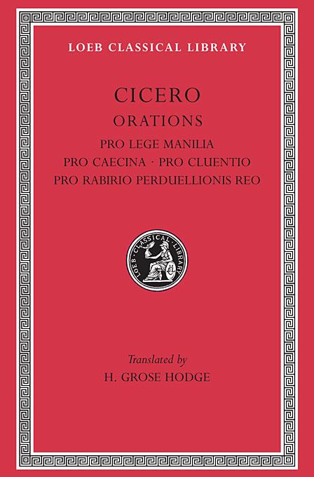 Orations – Pro Lege Manilla, Pro Caecina, Pro Cluentio L198 V 9 (Trans. Hodge)(Latin) недорого