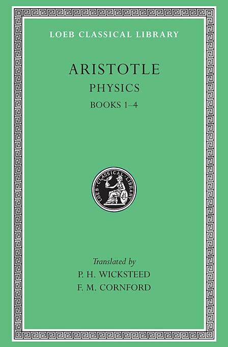 Physics Books I–IV L228 (Trans. Wicksteed)(Greek) sensedisс physics