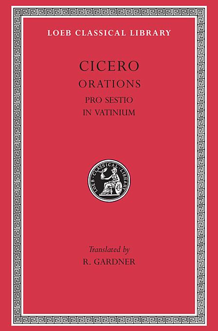 Orations – Pro Sestio, in Vatinium L309 (Trans. Gardner)(Latin) недорого