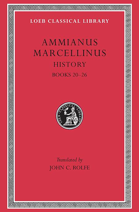 Books XX–XXVI L315 V 2 (Trans. Rolfe)(Latin)