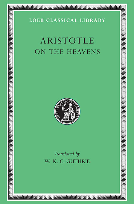 On the Heavens L338 V 6 (Trans. Guthrie)(Greek) to demonicus – to nicocles – nicocles or the cyprians l209 v 1 trans norlin greek