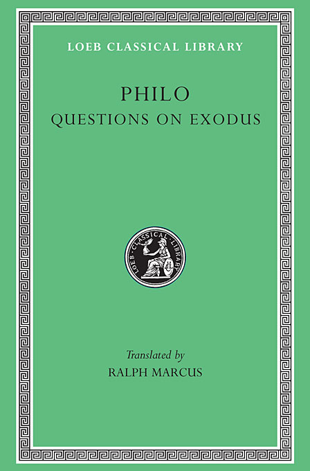 Supplement 2 – Questions & Answers on Exodus L401 (Trans. Marcus)(Greek) on sophistical refutation – on coming–to–bepassing away–on the cosmos l400 v 3 trans forster greek