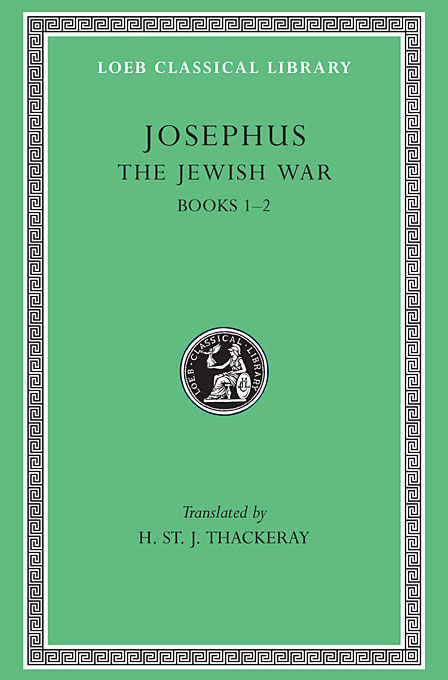 Josephus V 2 – The Jewish War Books I–II (See also L487/210) (Trans. Thackeray)(Greek) костюмы