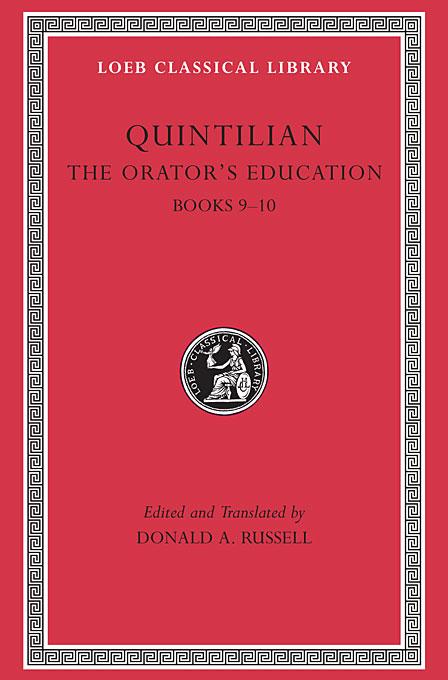 The Orators Education V 4 Books 9–10 L127 (Trans. Russell)(Latin) confessions books ix–xiii l027 v 2 trans watts latin