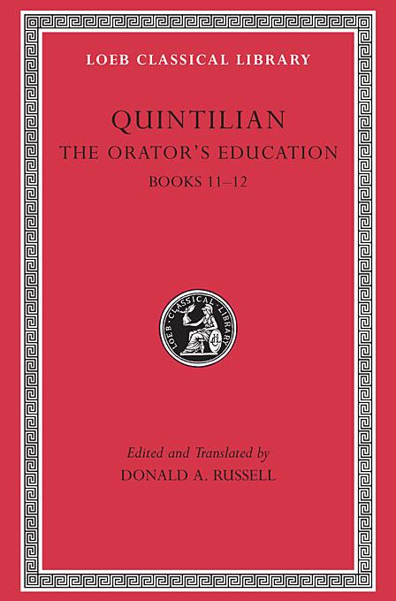 The Orators Education V 5 Books 11–12 L494 (Trans. Russell)(Latin) confessions books ix–xiii l027 v 2 trans watts latin
