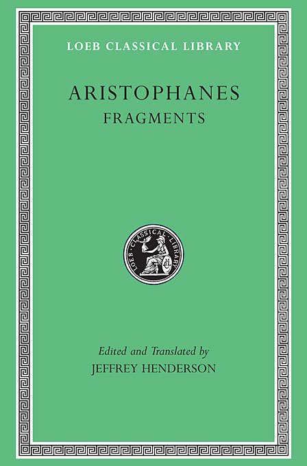 Fragments L502 (Trans. Henderson)(Greek) daphnis and chloe anthia and habrocomes trans henderson l069