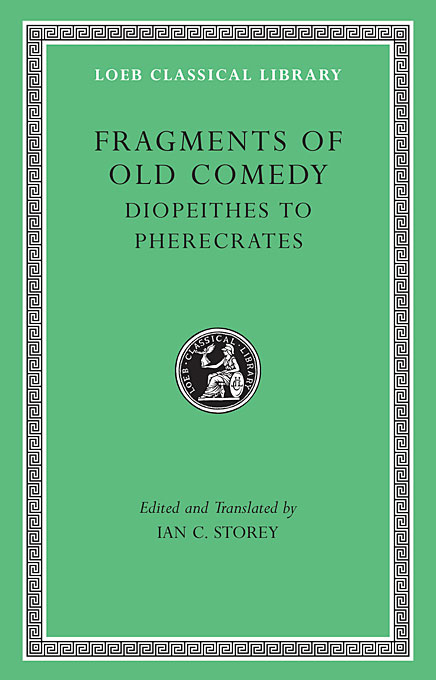 Fragments of Old Comedy, Volume II L514 the comedy of errors