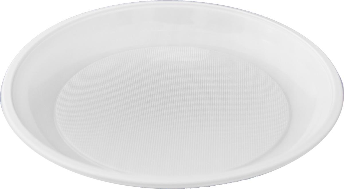 Набор одноразовых десертных тарелок Мистерия, диаметр 16,5 см, 100 шт