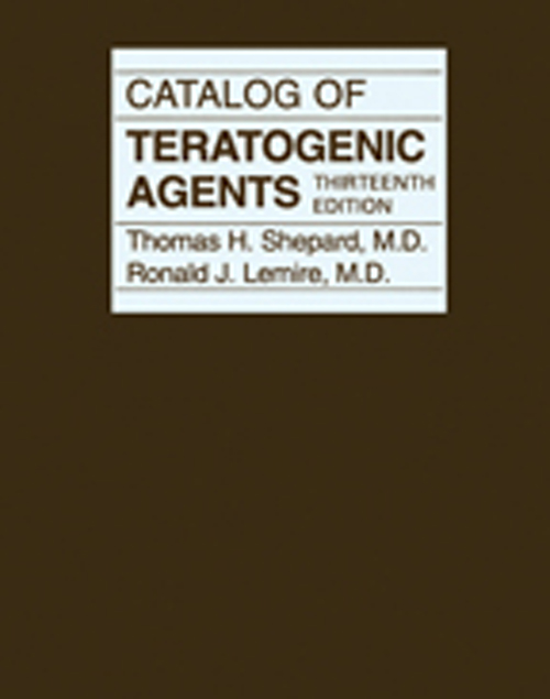 Catalog of Teratogenic Agents 13e festo catalog