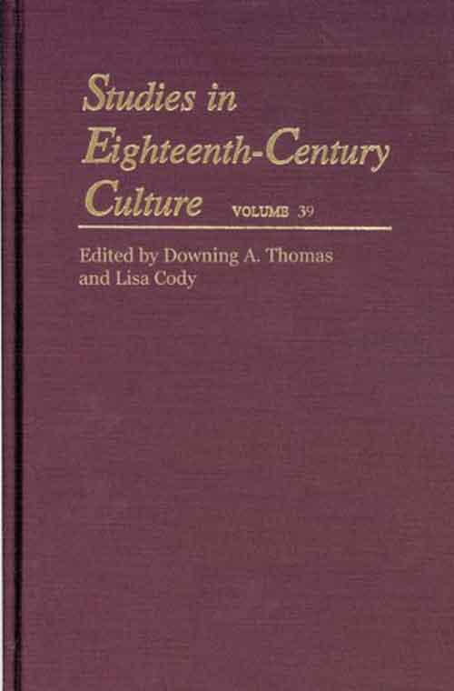 Studies in Eighteenth–Century Culture V40 весы кухонные zelmer zks14500 белый