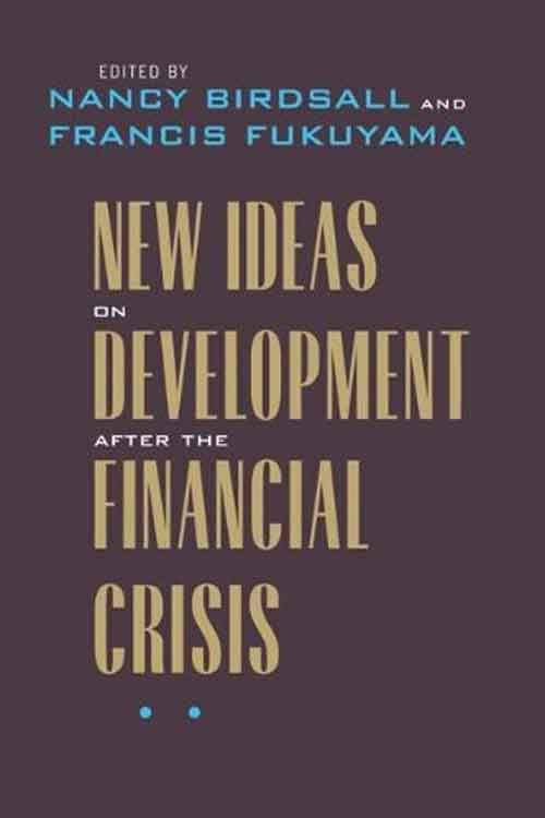 New Ideas on Development after the Financial Crisis the 1994 mexican financial crisis