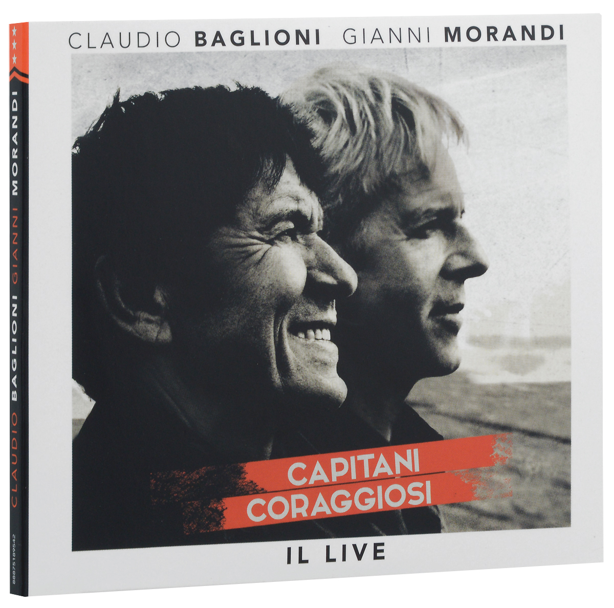 Claudio Baglioni. Gianni Morandi. Capitani Coraggiosi. Il Live (2 CD)