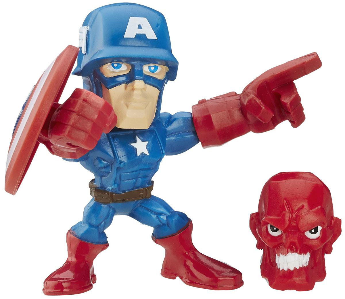 Hero Mashers Фигурка Captain America hero mashers разборная фигурка a bomb