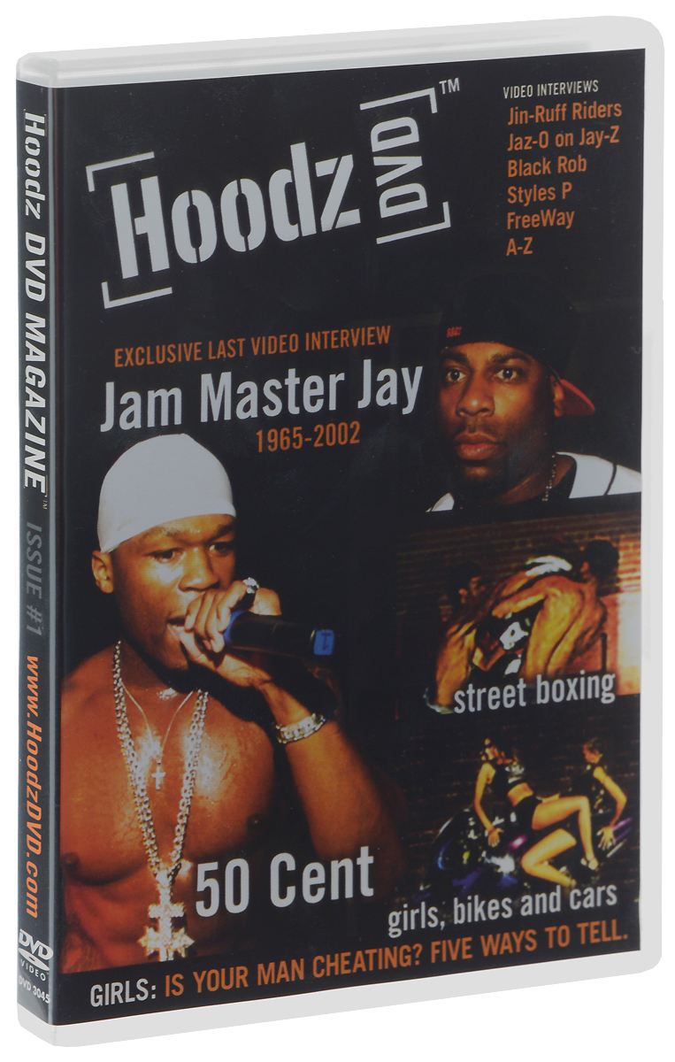 Hoodz: DVD Magazine: Issue 1 the german issue 2e