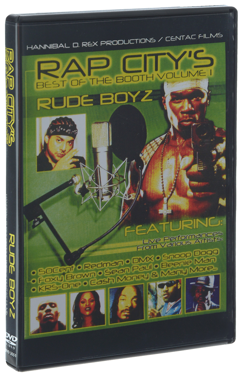 Rap City's Best Of The Booth: Volume I: Rude Boyz babyonline dress белый xxl