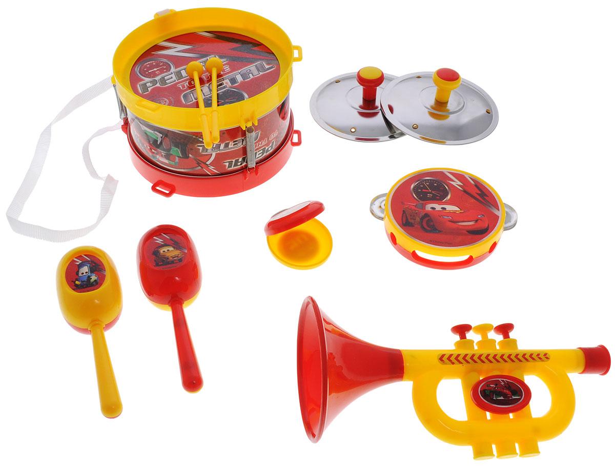 Играем вместе Набор музыкальных инструментов Тачки 10 предметов - Музыкальные инструменты