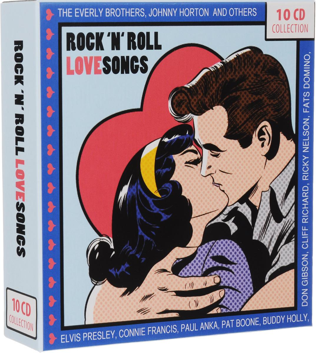 Rock 'N' Roll Love Songs (10 CD) мужская футболка gildan t lol 3016174