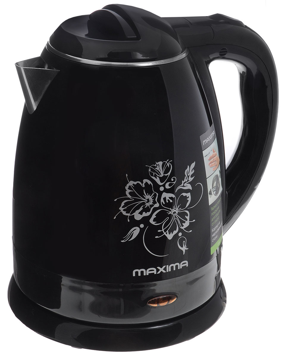Maxima MK-M421, Black электрический чайник термопоты maxima термопот maxima mtp m058d серый